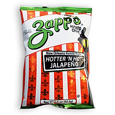 ZAPPS POTATO CHIPS (HOTTER 'N HOT JALAPENO)