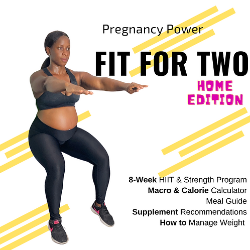 Fit For Two -Pregnancy Program