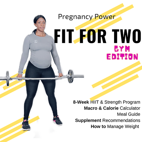 Fit For Two - Pregnancy Program