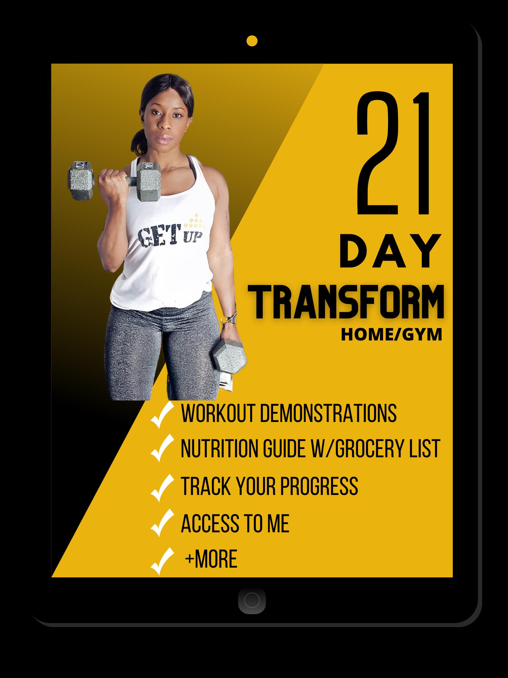 21 Day Transform