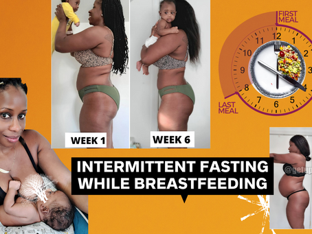 Intermittent Fasting While Breastfeeding | Lose Weight and Belly Fat Fast While Breastfeeding