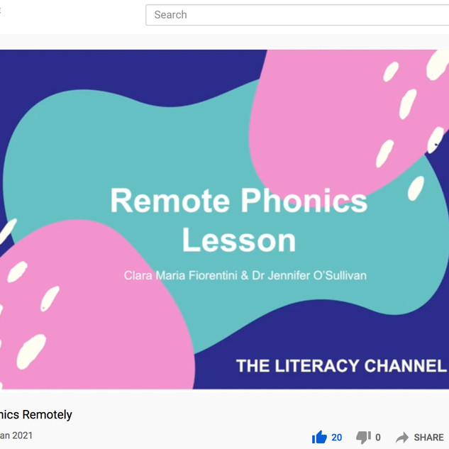 Remote Phonics Instruction