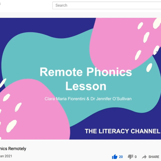 Remote Phonics Instruction