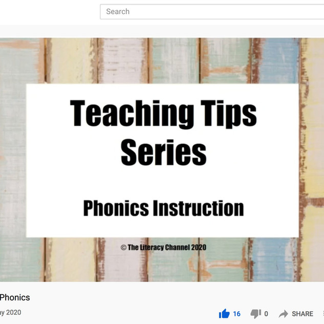 Teaching Tips: Phonics
