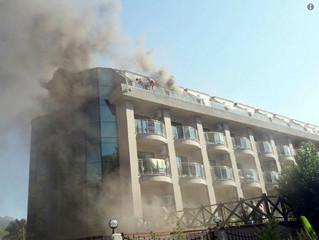 В отеле Eldar Resort в Турции при пожаре пострадали россияне