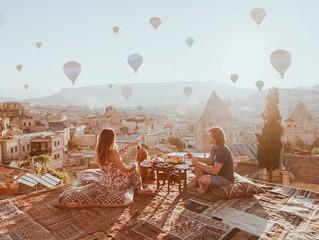Каждый мечтает посетить турецкую Каппадокию💫