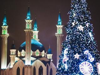 Казань из Нижнего на Новый год