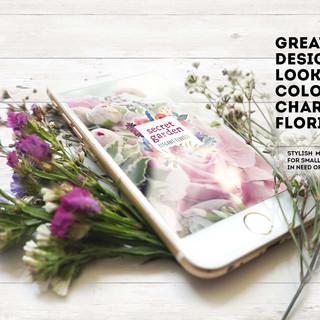 Florist Logo Ad