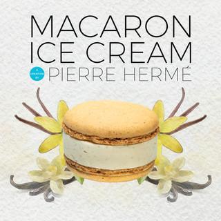 Macaron ice Cream