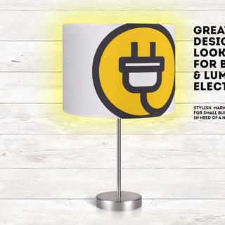 Electrician Logo Ad