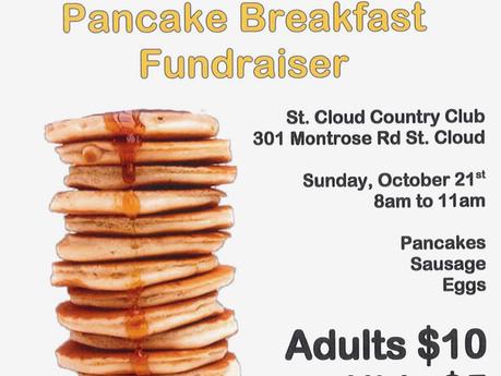 Pancake Breakfast Fundraiser!