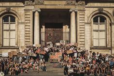 Rassemblement contre la nomination de Darmanin au poste de ministre de l'intérieur - 07.07.20