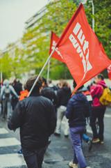 Manifestation interprofessionnelle contre la réforme des retraites 24.09.19