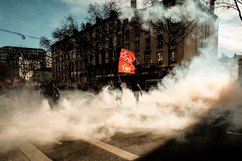 Manifestation contre la réforme des retraites 09.01.20