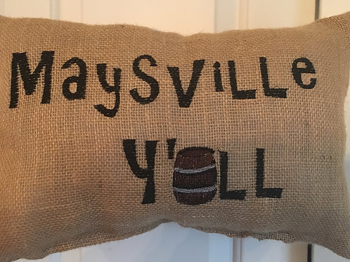 MAYSVILLE Y'ALL PILLOW