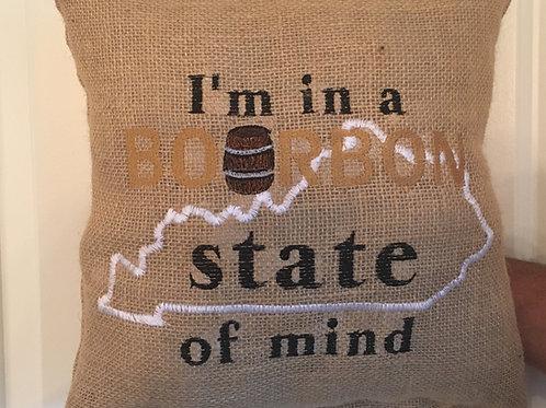 BOURBON STATE OF MINE PILLOW