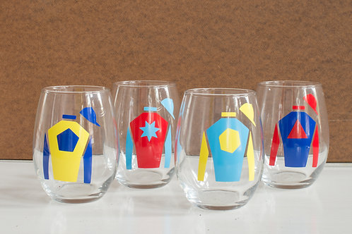 JOCKEY SILK WINE GLASSES