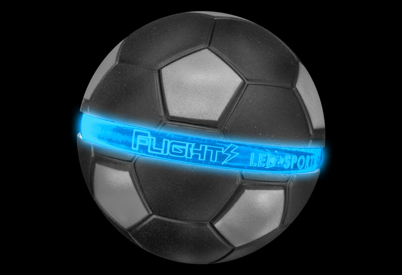 Blue Flights Soccer Ball