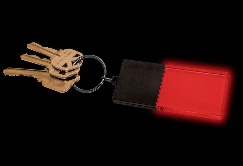 Red Beam on Keys
