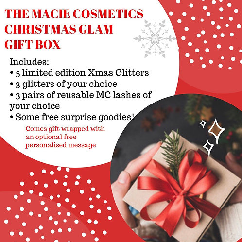The Christmas GLAM Box!  dispatched mid november