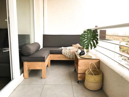 TERRAZA DEPARTAMENTO - Tips para tener la terraza que tanto deseas
