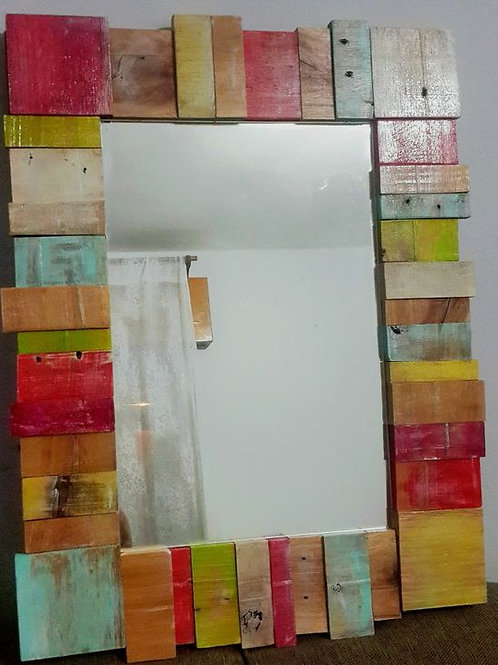 Espejo Multicolor