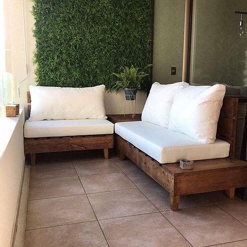 Juego de terraza Ipanema (incluye mesa)