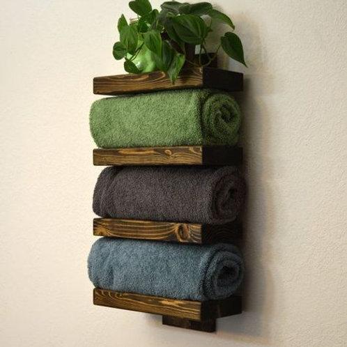 Porta toallas para baño Kim