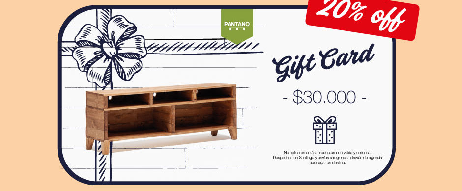 Gift Card Eco ( 20% OFF )