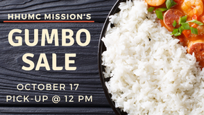 Mission's Gumbo Sale