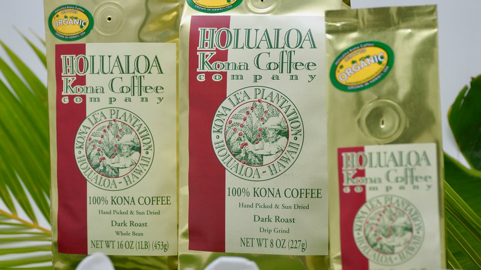 100% Kona Coffee - Chocolate Macadamia Nut Flavored 12oz