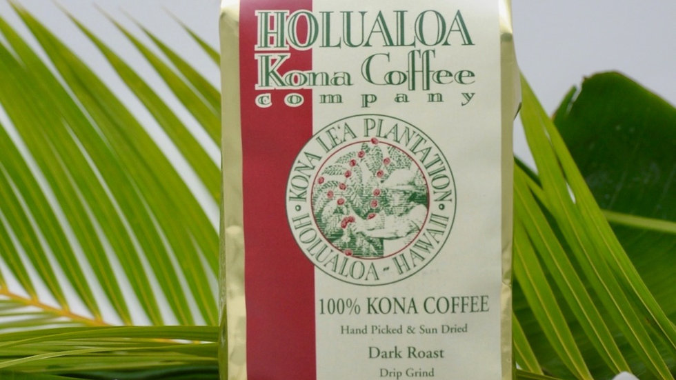 Certified Organic Estate 100% Kona Coffee 8 oz