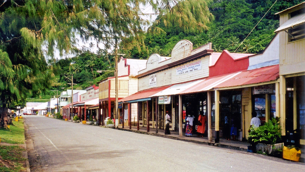 Colonial history. Fiji's first capital.