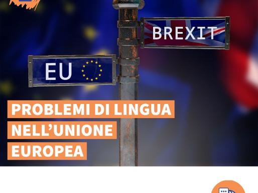 Brexit: Problemi di lingua nell'Unione europea