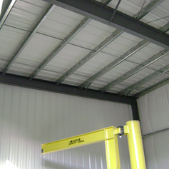 Full insulation, cladding & liner panel installation included