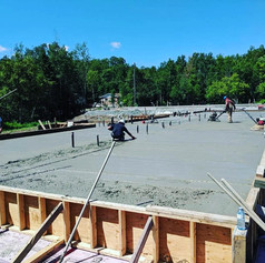 Flatwork placement & finishing