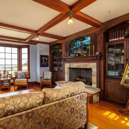 OV Family Rm Cabinetry