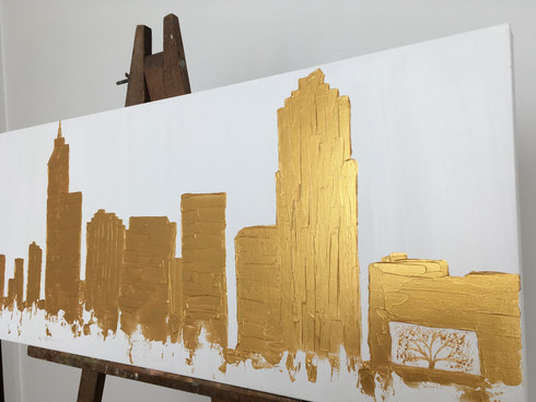 Raleigh in gold