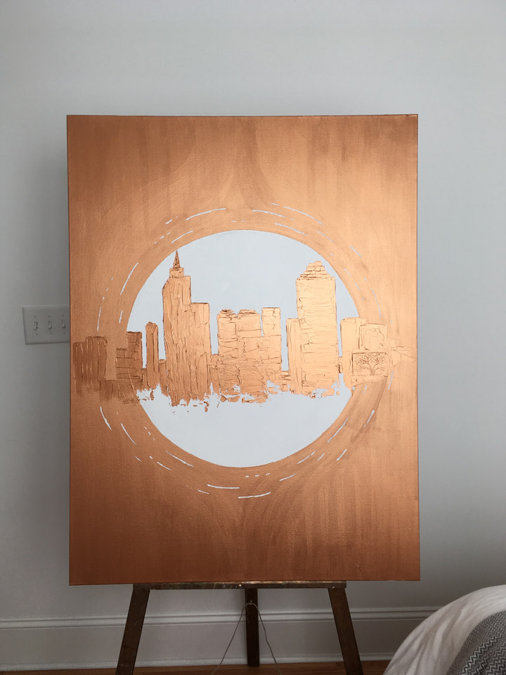 Raleigh | Copper & White