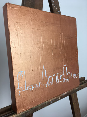 Outlining Raleigh | copper