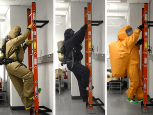 Non-Encapsulating NFPA (National Fire Protection Agency 1994) Class 1 Protective Ensemble