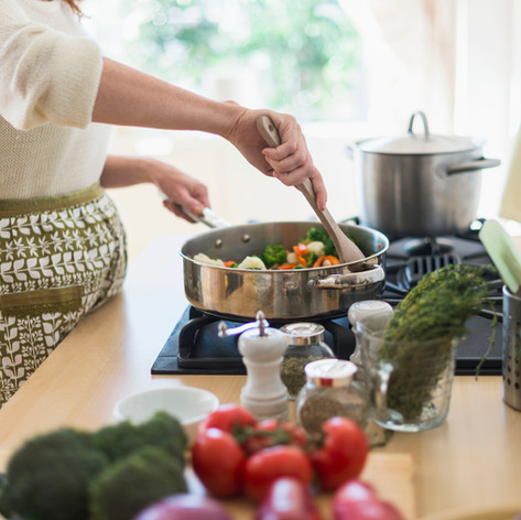 כלי מטבח מלאי בריאות