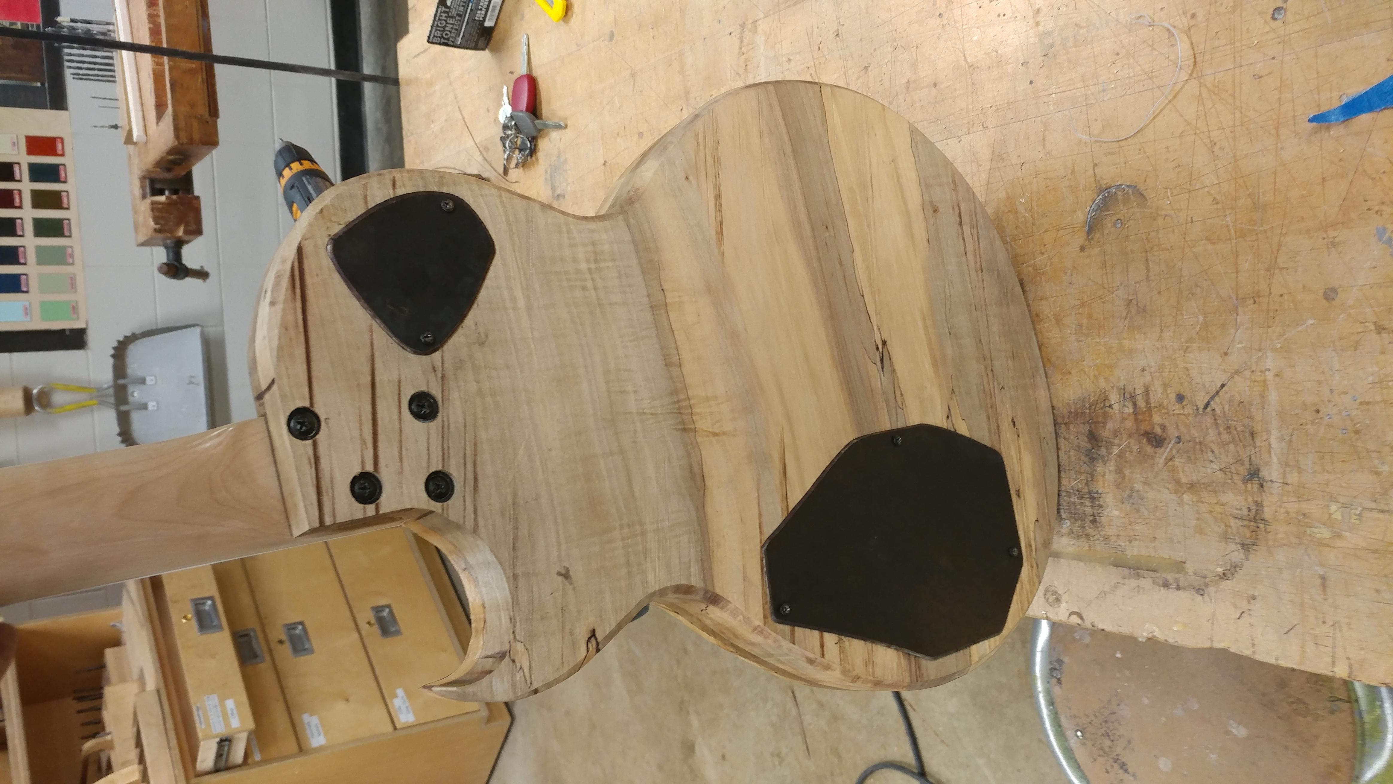 Custom Machined Back Plates