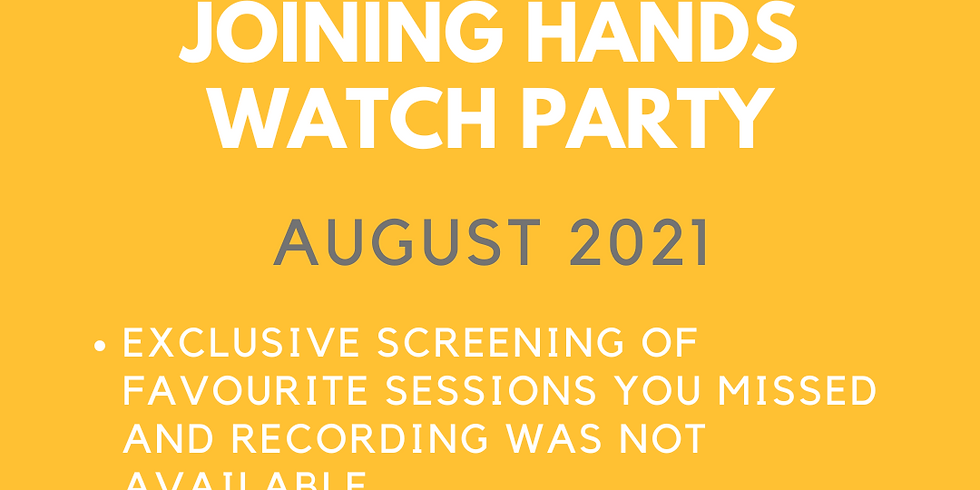 JOINING HANDS WATCH PARTY