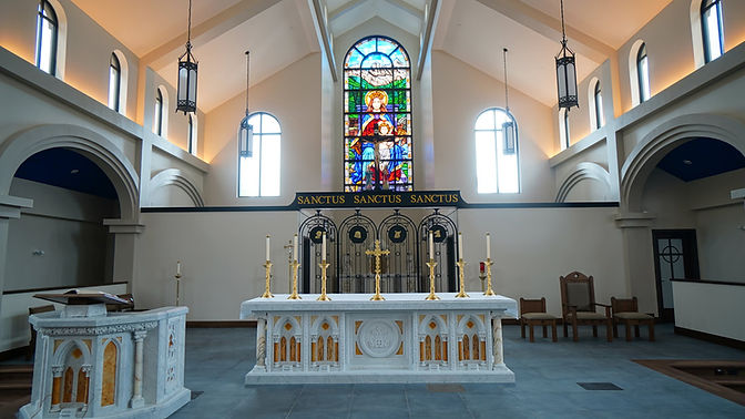 14-Altar, Ambo and Celebrant Chair