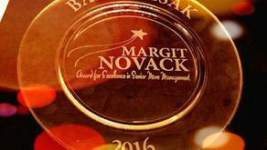 Barry Izsak Receives The Margit Novack Award