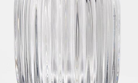"Clear optical votive, 5"""