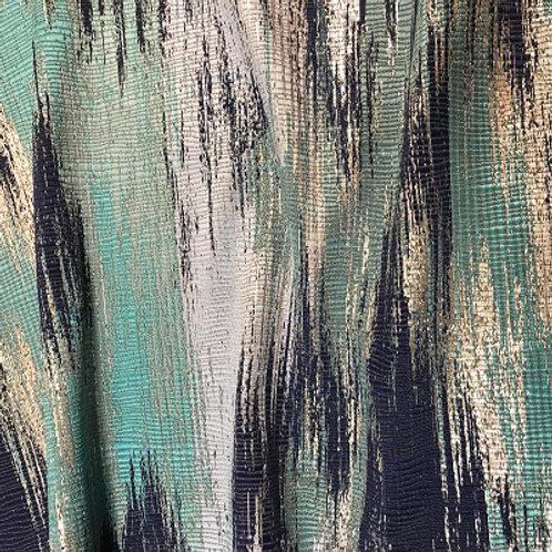 "Blue Oak Table Linen 90x156"""