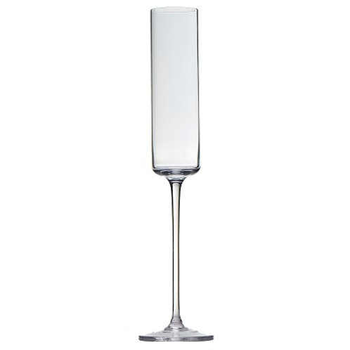 """Halo Glass Long Stem Candle Holder (2x16"""")"""