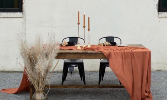 Terracotta Table Runner